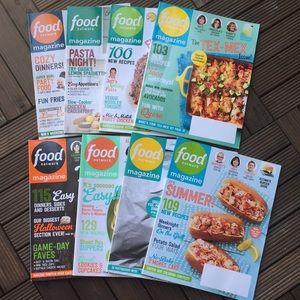🍴Food Network Magazines